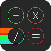CALX  iOS 7 easy calculator HD