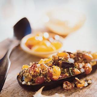 Couscous-Stuffed Eggplant