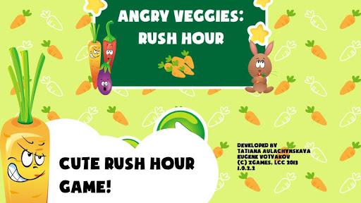 Angry Veggies: Rush Hour