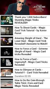 Magic Tricks Revealed VDO