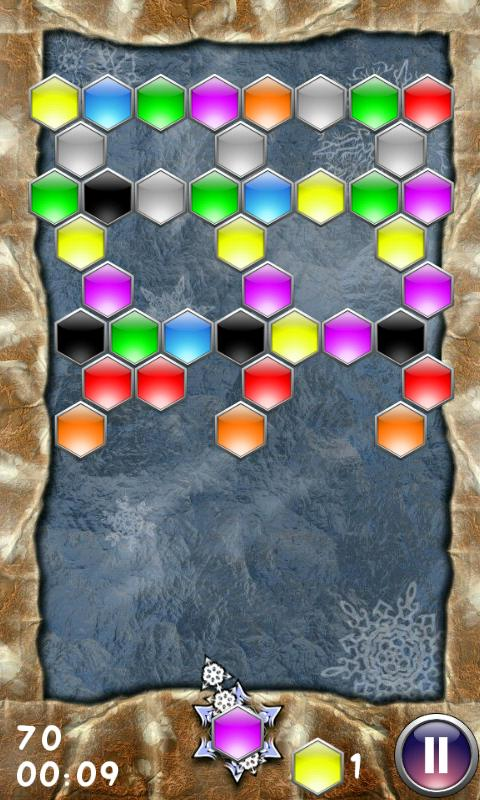 Hexagon - shoot bubbles - screenshot