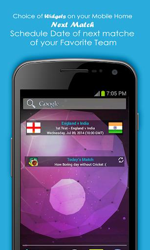 Live Cricket Scores & Schedule 1.6 screenshots 8
