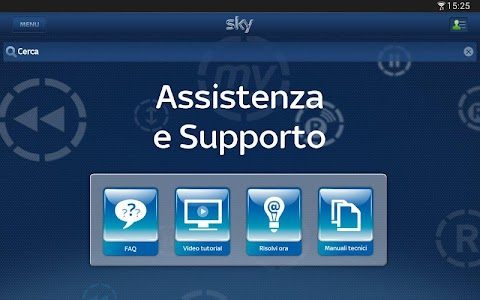 Sky Fai da te per Tablet screenshot 4