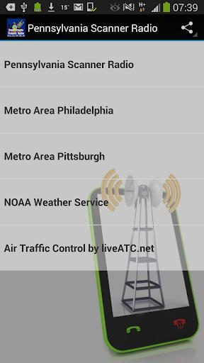 Pennsylvania Scanner Radio
