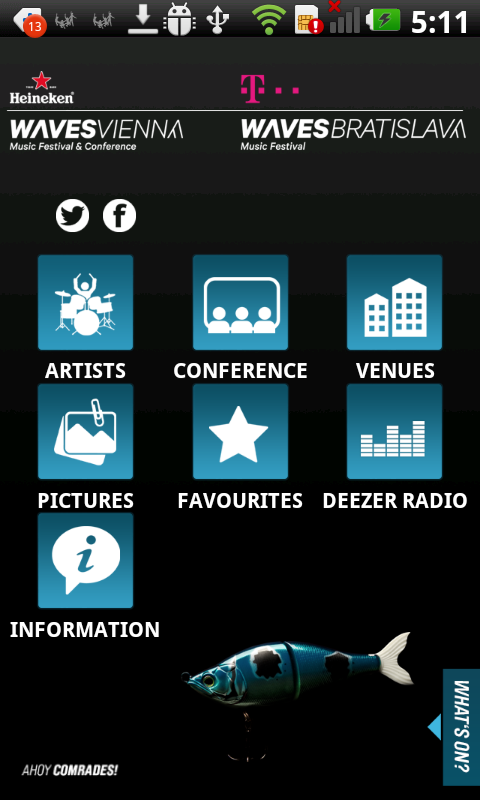 Waves Vienna & Bratislava 2013 - screenshot