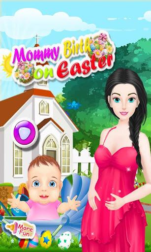ママ出生イースターのゲーム