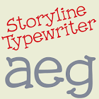 Storyline Typewriter FlipFont icon