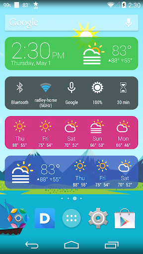 5 Multi-Feature Widget Packs For Your Android Device - Hongkiat