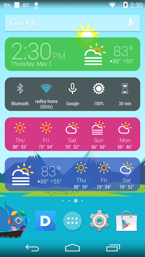 Kairo (for HD Widgets)- screenshot