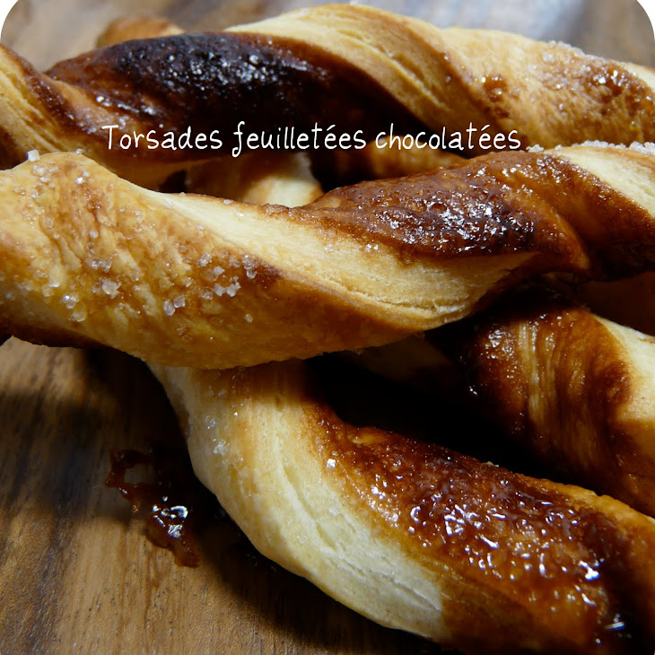 Chocolate Puff Pastry Twists