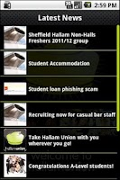 Screenshot of Hallam Union