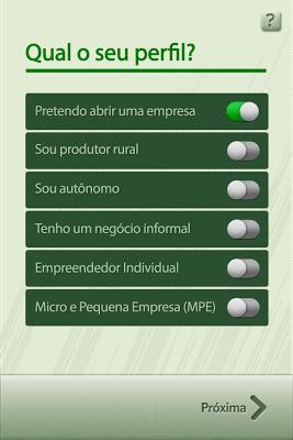 Linhas de Crédito SEBRAE - screenshot