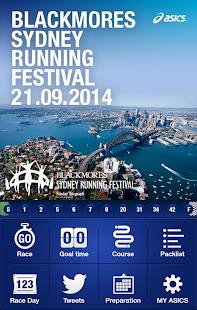 Sydney Running Festival ASICS
