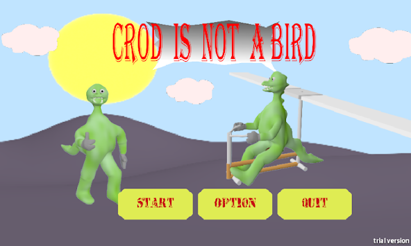 Crod is not a Bird apk screenshot