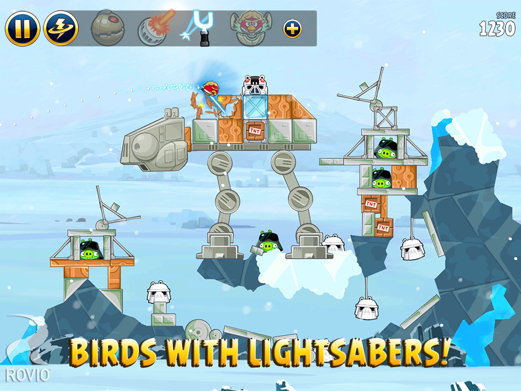 Angry Birds Star Wars screenshot #12