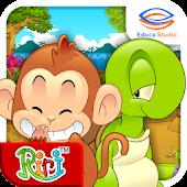 Cerita Anak: Monyet dan Kura