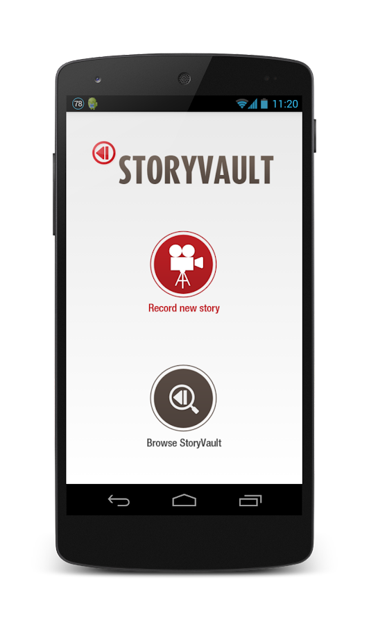 StoryVault- screenshot