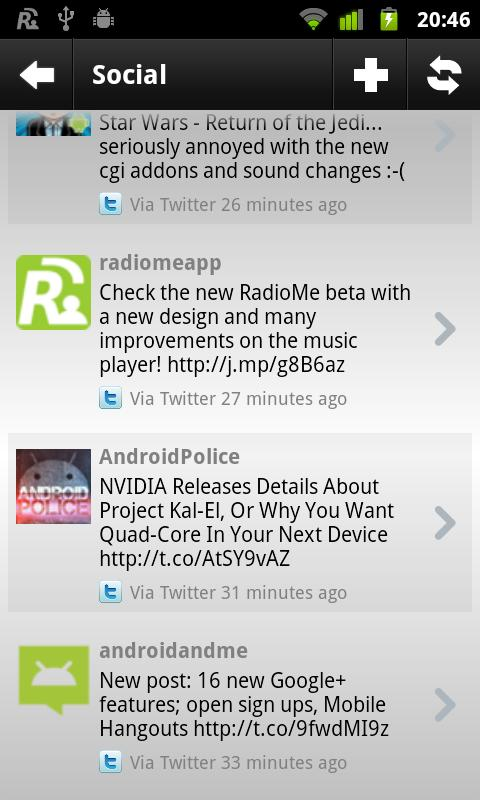RadioMe- screenshot