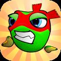 Angry Frogs Ninja icon