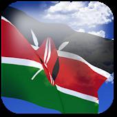 3D Kenya Flag
