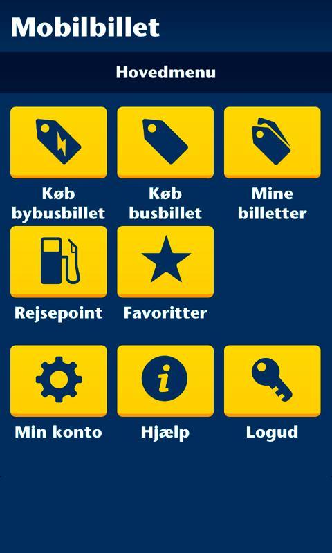 Sydtrafik Mobilbillet- screenshot