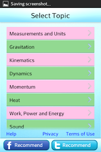 Science Grade 6 7 8 Physics- screenshot thumbnail