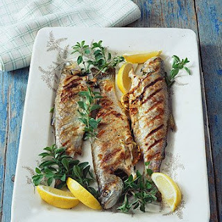 Grilled Trout with Oregano