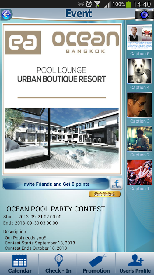 Ocean Bangkok- screenshot