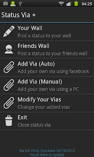 Status Via Free - screenshot thumbnail