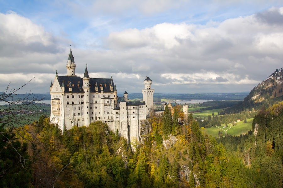 Autumn Neuschwanstein by Michael Strier - Buildings & Architecture Public & Historical ( bavaria, autumn, germany, castle, disney, neuschwanstein castle,  )