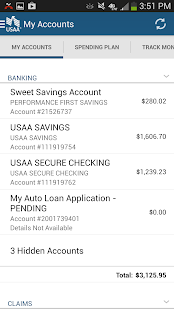 USAA Mobile - screenshot thumbnail