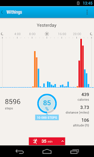 Withings Health Mate - screenshot thumbnail