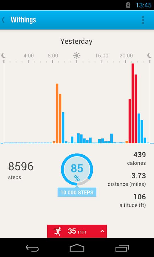 Withings Health Mate App