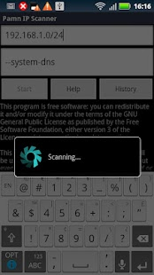 Pamn IP Scanner- screenshot thumbnail