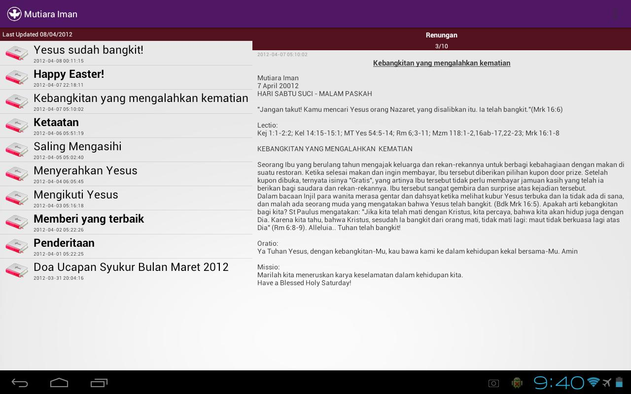 Mutiara Iman - screenshot