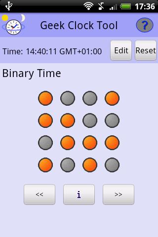 Geek Clock Tool- screenshot
