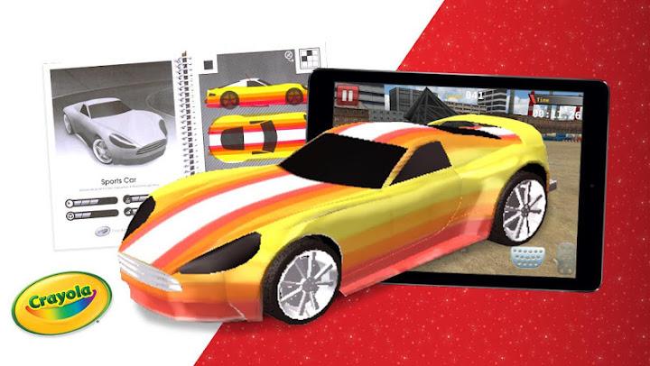 Crayola Design & Drive Android App Screenshot