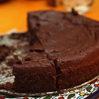 Chocolate-Prune Cake.
