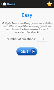 American Slang Quiz- screenshot thumbnail