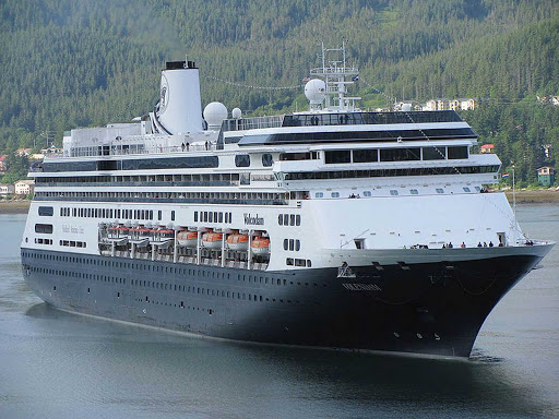 Holland-America-Volendam-Juneau - Holland America's Volendam in Juneau, Alaska.