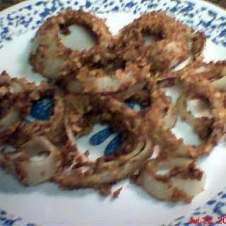 Runaway Baked Onion Rings.