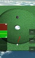 Screenshot of One Shot Putting Golf