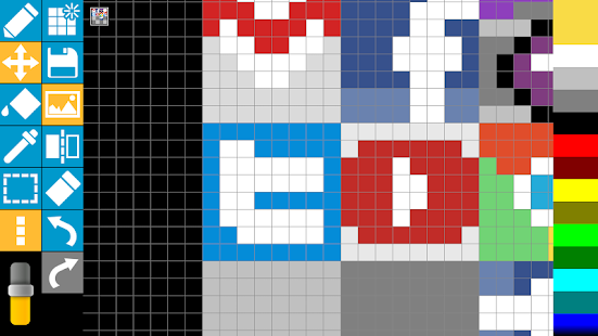 Pixels Touch - Sprite maker - Apps on Google Play