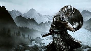 Screenshot of Skyrim Live Wallpaper