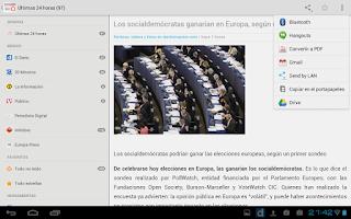 Screenshot of Noticias Libres (Boicot AEDE)