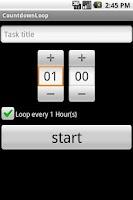 Screenshot of Countdown Loop