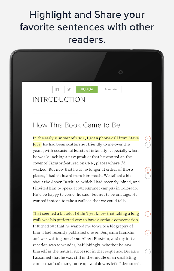 Glose - Social ebook Reader- screenshot