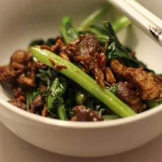 Chinese Braised Pork and Broccoli.