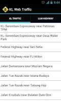 Screenshot of KL Web Traffic