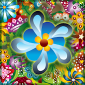 Retro Flowers Live Wallpaper